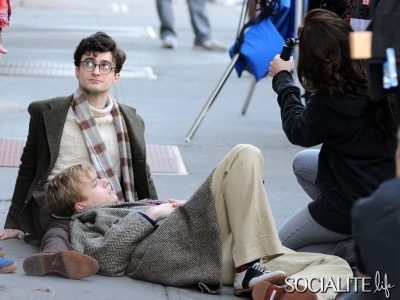 Daniel Radcliffe in 'Kill Your Darlings'